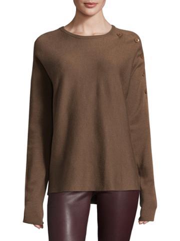 Tibi Ribbed Merino Wool Sweater
