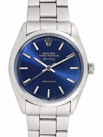 Rolex Unisex Stainless Steel Airking Watch, 34mm