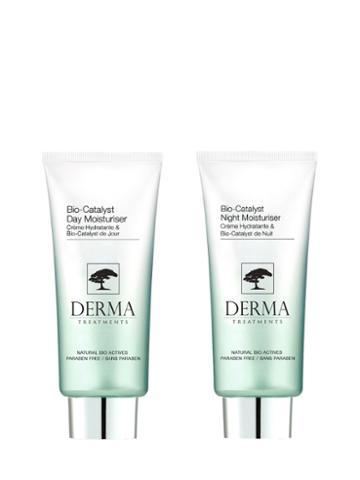 Derma Treatments Bio-catalyst Moisturizers Set - Bio-catalyst Night Moisturizer & Day Moisturizer (1.69 Oz)