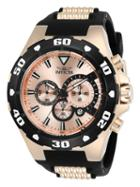 Invicta Pro Diver Water Resistant Stainless Steel Watch, 52mm