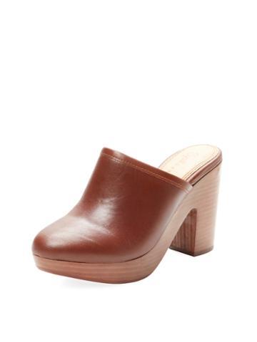 Splendid Gabby Leather Clog