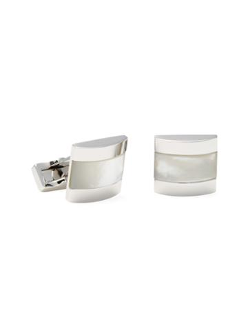 Canali Mother Of Pearl Classic Cufflinks