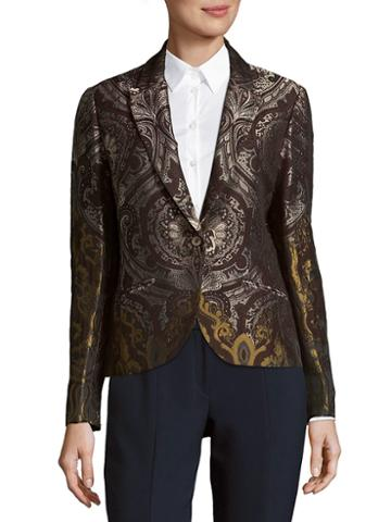 Robert Graham Peak Lapel Blazer