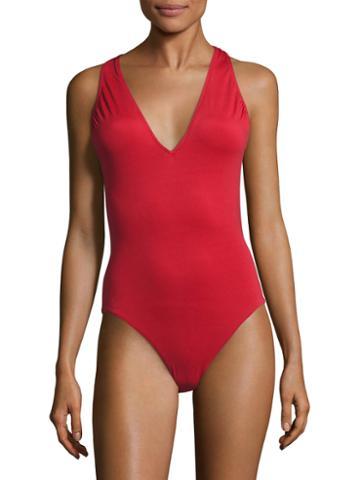La Perla Strap Back One Piece Swimsuit