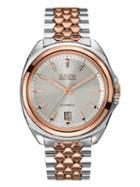 Bulova Accu-swiss Stainless Steel Silver Grey Dial Watch, 42mm
