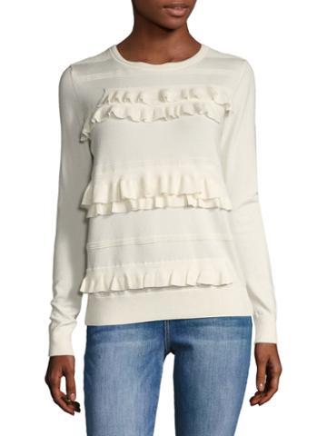 Diane Von Furstenberg Benni Silk Sweater