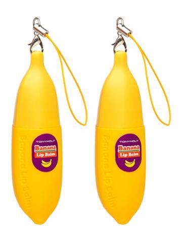 Tony Moly Banana Delight Smoothing Lip Balm Set (2 Pc)