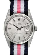 Rolex Automatic Stainless Steel Water Resistant Datejust Watch, 36mm