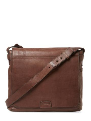 Frye Chris Leather Messenger Bag