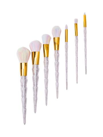 Zoe Ayla Unicorn Diamond Style Essentials Brush Set - Mix (7 Pc)