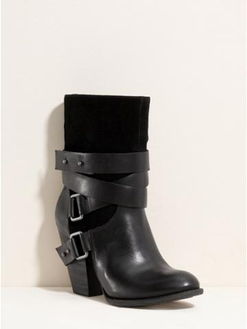 Guess Mignia Ankle Boots - Web Exclusive, Black (7)