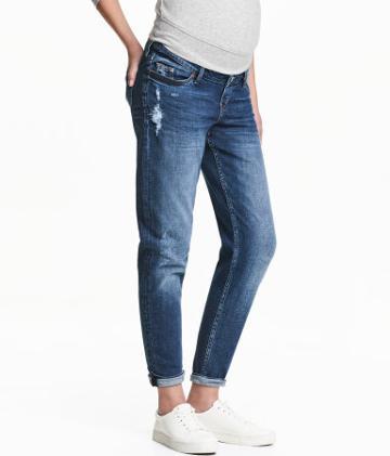 MAMA Boyfriend Trashed Jeans