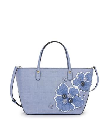 Henri Bendel West 57th Floral Small Tote