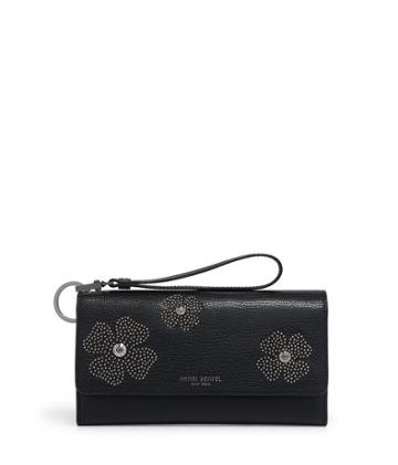 Henri Bendel Uptown Out & About Floral Studded Organizer Wallet