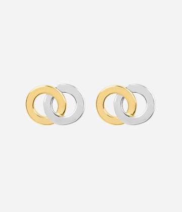 Henri Bendel Luxe Coin Stud Earring