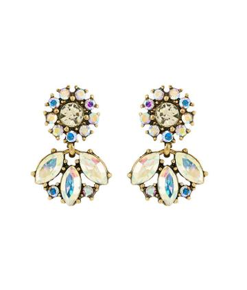 Henri Bendel Stella & Ruby Prismatic Mini Drop Earring