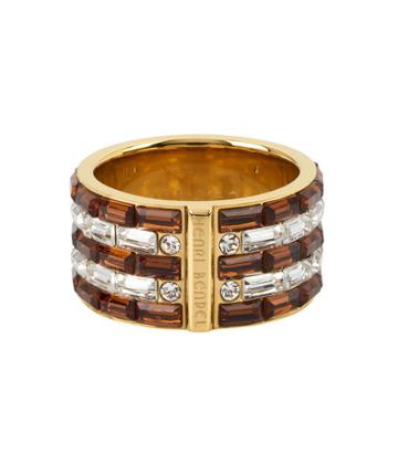 Henri Bendel Striped Ring