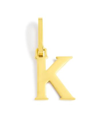 Henri Bendel Influencer Letter K Charm