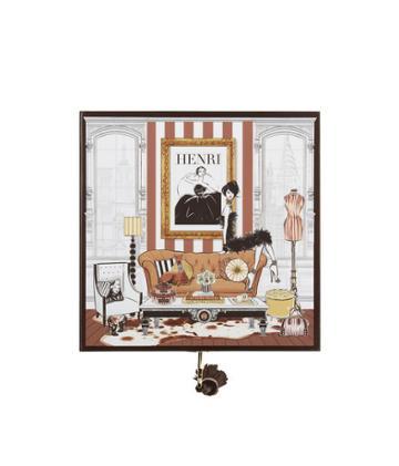 Henri Bendel Megan Hess Room Jewelry Box