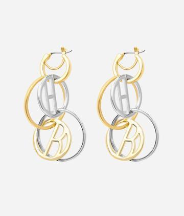 Henri Bendel Luxe Coin Link Drop Earring