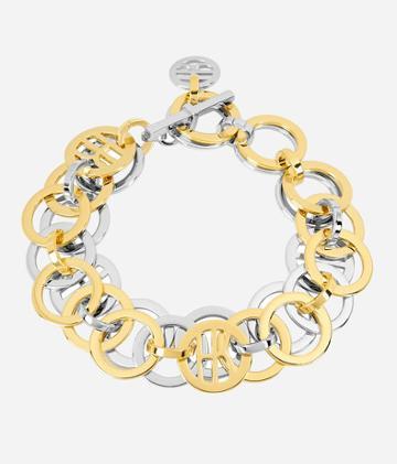 Henri Bendel Luxe Coin Link Bracelet