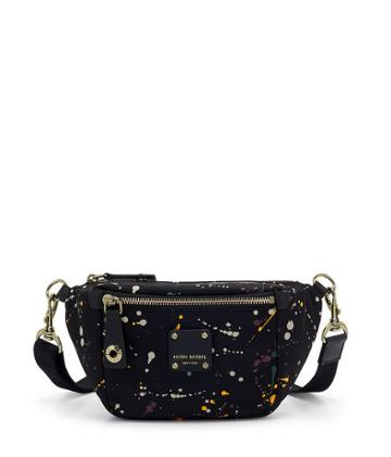 Henri Bendel Jetsetter Splatter Paint Belt Bag