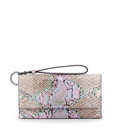 Henri Bendel Uptown Out & About Snake Organizer Wallet