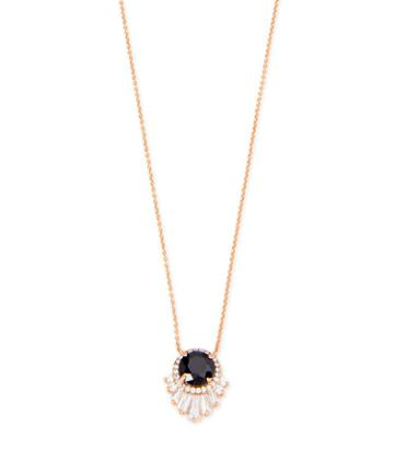 Henri Bendel Deco Halo Necklace