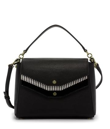 Henri Bendel Mason Triple Flap Satchel