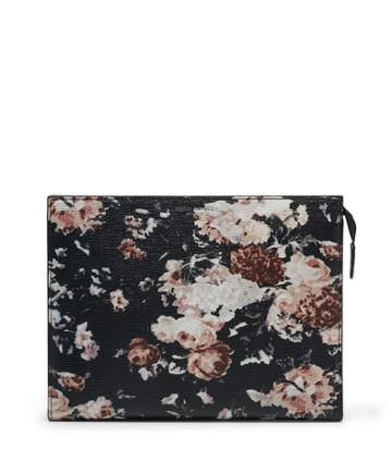 Henri Bendel West 57th Floral Printed Cosmetic Clutch