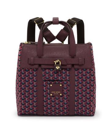 Henri Bendel Jetsetter Foulard Mini Convertible Backpack