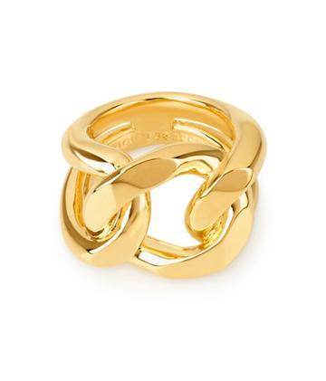 Henri Bendel Metal Link Ring