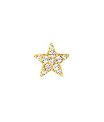 Henri Bendel Pave Star Single Stud Earring