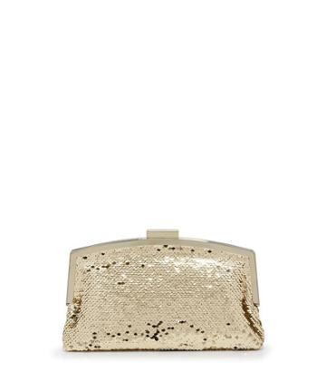 Henri Bendel Sequin Frame Party Clutch
