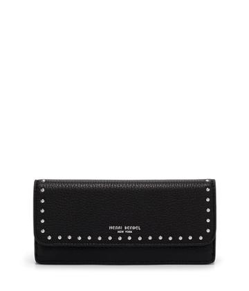 Henri Bendel Dalton Studded Long Wallet
