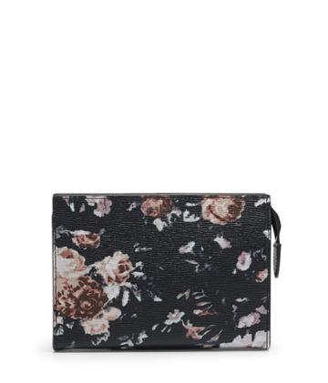 Henri Bendel West 57th Floral Printed Small Cosmetic Clutch