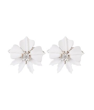 Henri Bendel Deepa By Deepa Gurnani Belinda Flower Stud Earring