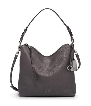 Henri Bendel Noho Convertible Metallic Hobo