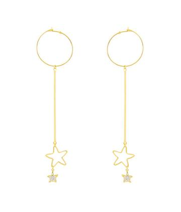 Henri Bendel Ettika Long Star Drop Earring