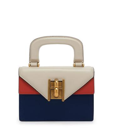 Henri Bendel Plaza Color Blocked Mini Bag