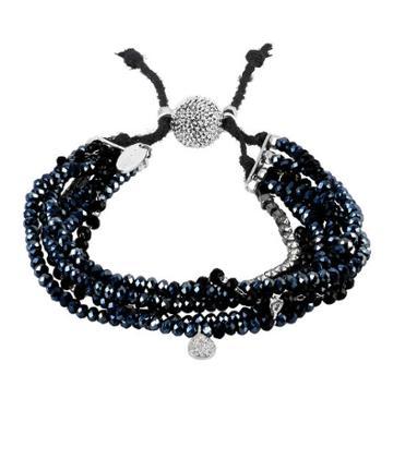 Henri Bendel Serafina Glimmer Multi Row Slider Bracelet