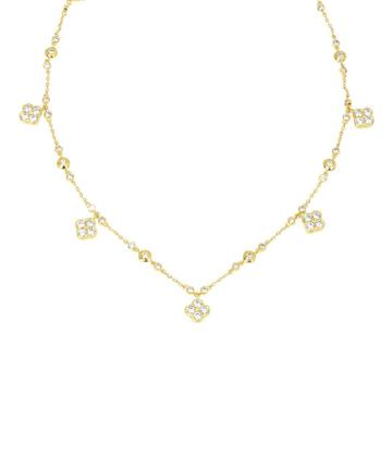 Henri Bendel Mini Petal Collar Necklace
