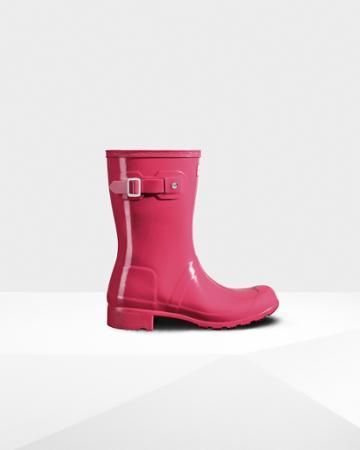 Women's Original Tour Short Gloss Rain Boots