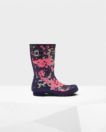 Women's Original Short Flecktarn Spacepop Rain Boots