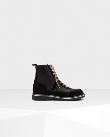 Men's Original Leather Commando Boots
