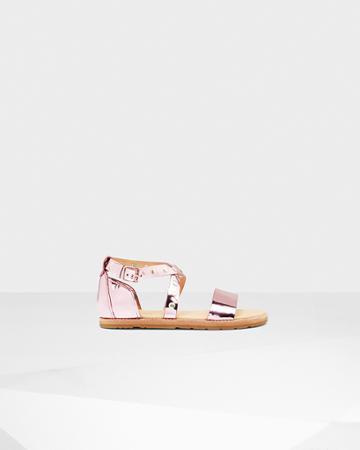Women's Original Metallic Leather Studded Sandals
