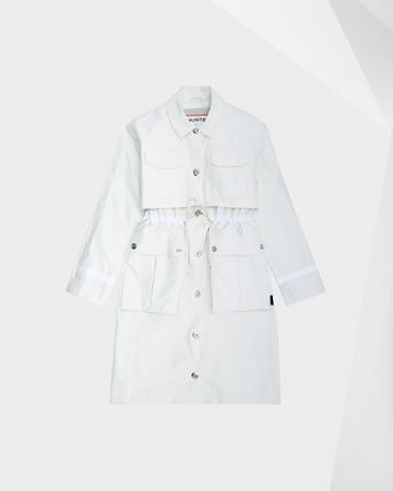 Women's Refined Garden Trench Coat