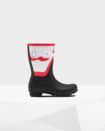 Women's Original Short Shadow Print Rain Boot
