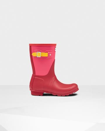 Women's Original Colorblock Short Wellington Boots