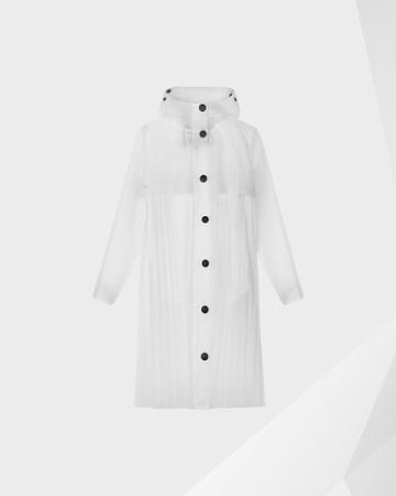 Women's Original Pleated Vinyl Waterproof Coat